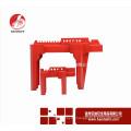 Wenzhou BAODSAFE BDS-F8602 Kugelhahn Griff Lockouts Sicherheitsschloss Rot Farbe Kugelhahn Lockout