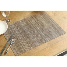 Ресторан оптом пластиковые вышитые коврики ПВХ сплетенный салфетки салфетка