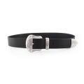 Big discount promotion full grain leather belt