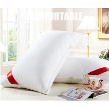 Travesseiro de microfibra de poliéster para hotel, material de enchimento interno