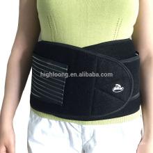 Soporte elástico de neopreno / Cintura / Soporte lumbar y lumbar con precio barato