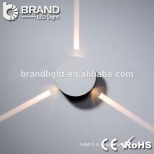 A alta qualidade ip20 3w conduziu a luz de parede conduzida, luz conduziu a parede