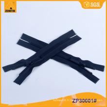 8 # Fashion Derlin Dents minces en plastique Zipper ZP30001