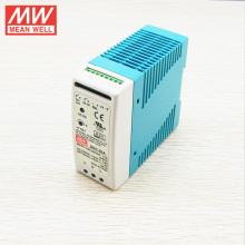 MEAN BEM 60 W 13.8 V Din Rail com carregador de bateria Comutação da fonte de alimentação DRC-60A