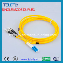 LC-St Duplex Fiber Optic Jumper, Jumper Cable