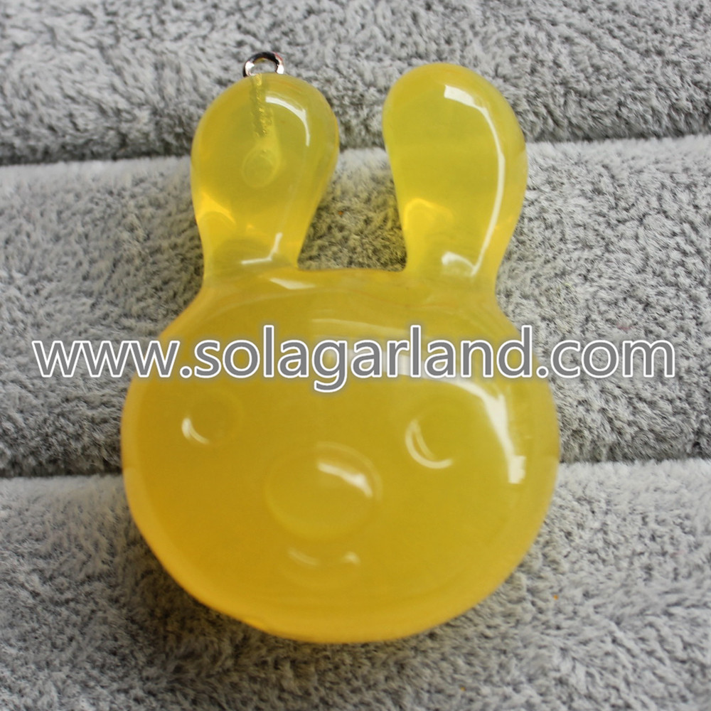 Plastic drop Pendants