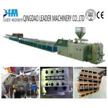 PP PE PVC Wood Plastic WPC Profile Extrusion Production Line Machine