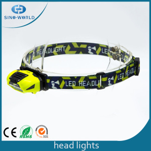 Nuevo diseño Eyecare LED Plastic Outdoor Head Light