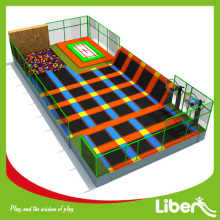 Indoor Kids Customized Trampoline Park ve Francii