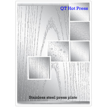 Chrome plate for short cycle hot press machine/ Press moulds for laminating