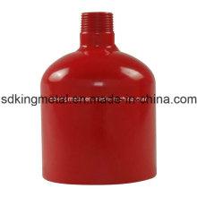 """Red de pintura de acero al carbono Tundish 1 """""""
