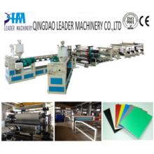 Professional PP PE PS PVC Plastic Sheet Extrusion Production Line