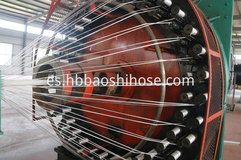 HDPE Steel Braided Pipe