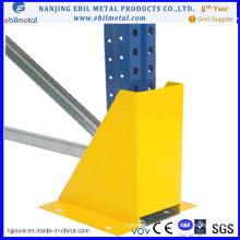 Protetor vertical estilo U em pó para suporte vertical
