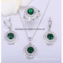 Fashion Wedding Brass Jewellery Set (S0189)