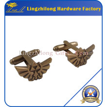 Bulk Cheap Antique Gold Wings Cufflink