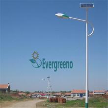 60W 100W LED luz de calle solar con poste