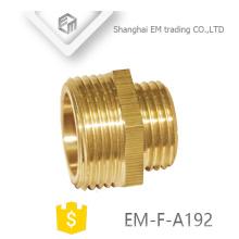 EM-F-A192 conector de encaixe de tubulação rosca macho de bronze