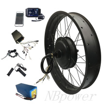 FAT wheel 72v 3000w high speed motor fat tire electric bike conversion kit with TFT display e bicycle