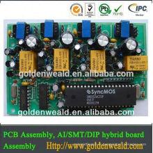 remoter contrôleur pcba usb-stick + pcba EMS clé en main service électronique produits assemblage