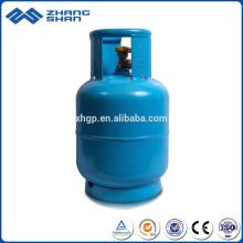 Cylindre en acier au gaz GPL de 5 kg du marché de l'Arabie saoudite à bas prix