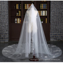 Brand New Cathedral Length 3 Meter Ivory Wedding Veil with Full Appliques