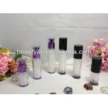Plastic Airless AS Cosmetic Packaging Bottle