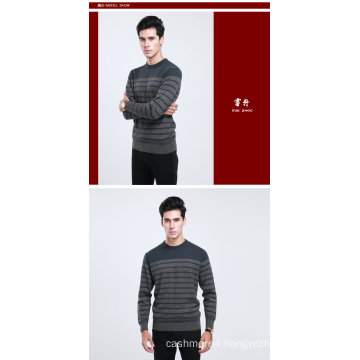 Yak Wool/Cashmere Round Neck Pullover Long Sleeve Sweatere