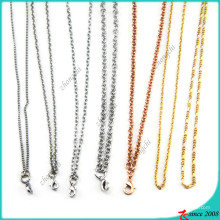 Wholesale Hot Selling Locket Chain Necklace Jewelry (FN16040965)