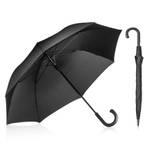 Promotional Modern Manual Straight Big Umbrella for The Rain Windproof