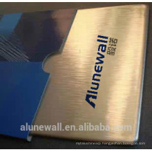 Alunewall 2 meter width fireproof Copper and Aluminium Composite Panel CCP outdoor wall usage