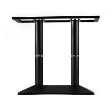28'' Black Dining Height Lateral Table Base