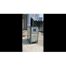 Open type Air-cooled 1HP small water chiller machine