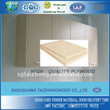 Möbelverwendung Hartholz Kernsperrholz