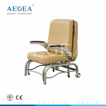 AG-AC005 desconto barato baixo preço dobrável cadeiras de hospital reclináveis