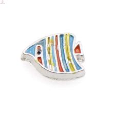 Fashionable colorful fish charms,fish pendant charms,fish floating locket pendant charms wholesale
