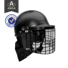 Шлем Anti-Riot с ПК и стальным сетчатым козырьком