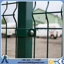 Panel de malla soldada Anti-climb para valla de seguridad