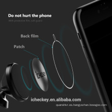 Tenedor magnético de aluminio de alta calidad del teléfono del coche, soporte para coche de la tableta