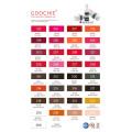 Goochie Derma Test Aapproval Pure Plant Eyebrow Lipst Maekup pigmento tinta del tatuaje