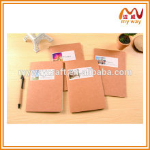 Travelers notebook with different scenery , kraft paper notebook