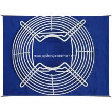 Protection de ventilateur de fil de métal enduit d'acier inoxydable / PVC