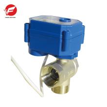 Válvula motorizada de control remoto inalámbrico eléctrico de la salida de aire automática del acero inoxidable