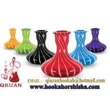 Hochwertige farbige mittelgroße Shisha Flasche