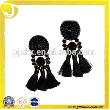 China Supplier Wedding Dresses Leather Costumes Metal Earring