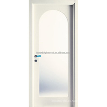 Radius Top Arched Glass Craftsman Diseño de puerta de madera