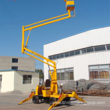 Hydraulic Trailed Towable Aerial Boom Lift