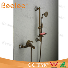 Antique Copper Tub and Shower Faucet