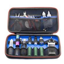Vape Tool Kit Hard Leather Case vape Portable Storage Carry Kit Bag