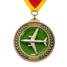 Factory Price Custom Metal Sport Award Aircraft Airplane Medal